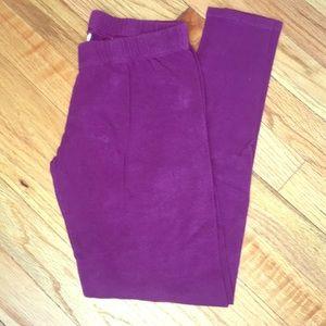 EUC! Worn once! Purple Leggings - S (3/5)